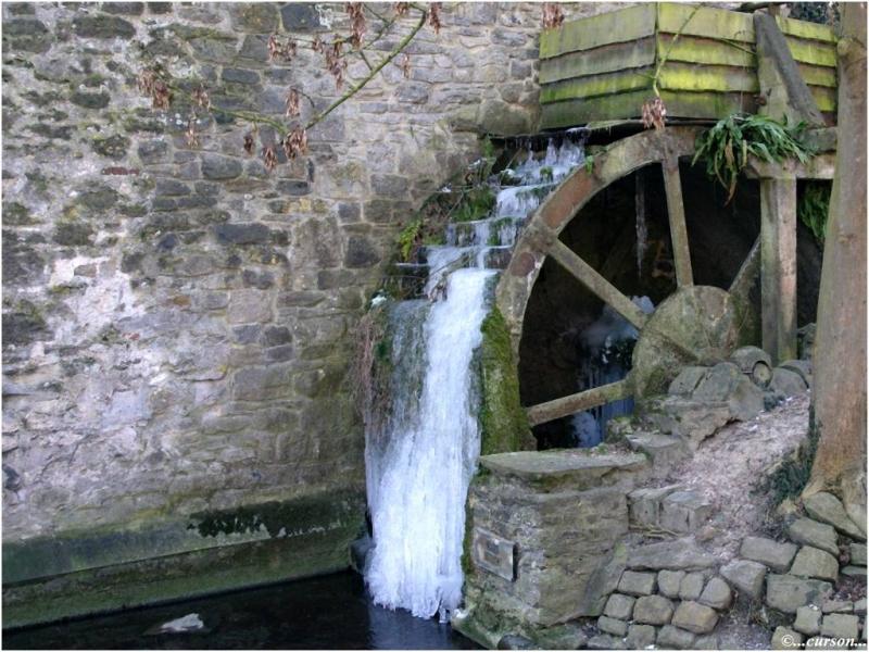 Le vieux moulin  À Voir