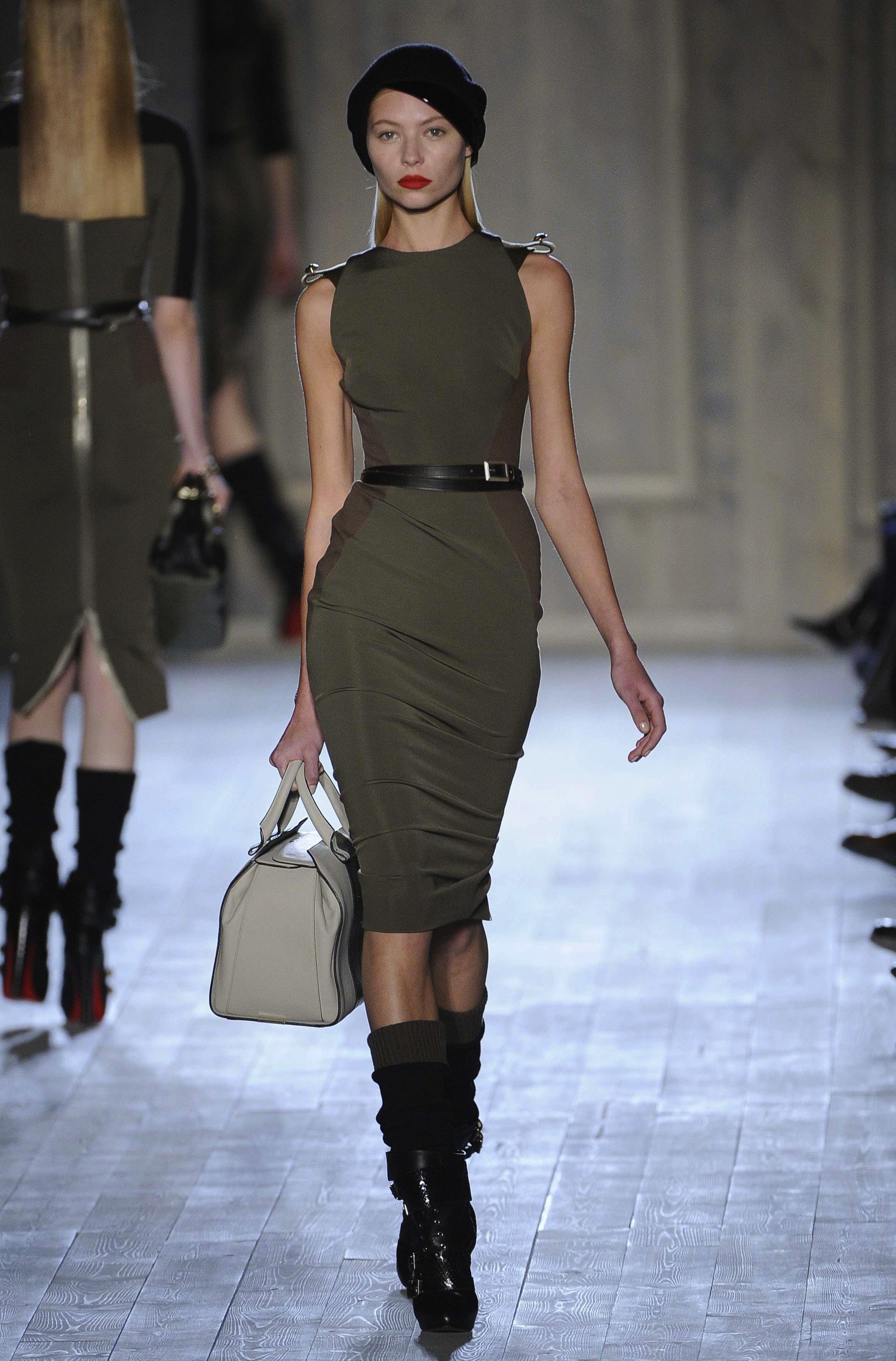 Fashion Week Le D Fil De Victoria Beckham Paperblog