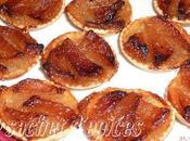 Mini-tartelettes poires