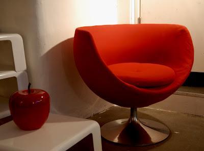 fauteuil boule ann es 70 paperblog. Black Bedroom Furniture Sets. Home Design Ideas