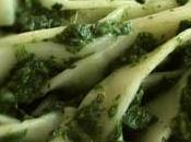Pâtes sauce épinards-gorgonzola