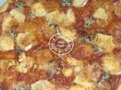 Pizza feuilletée fromages