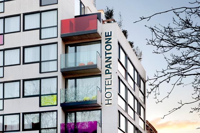 Hotel Pantone – Bruxelles