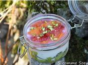 Petits bocaux vitaminés fruits miel