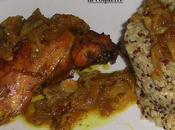 poulet palestinien sumac oignons.
