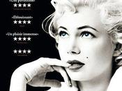 Critique Ciné Week With Marilyn, glamour Michelle Williams...