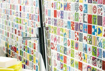Un carrelage qui ne manque pas de pep s paperblog - Mosaique carrelage castorama ...