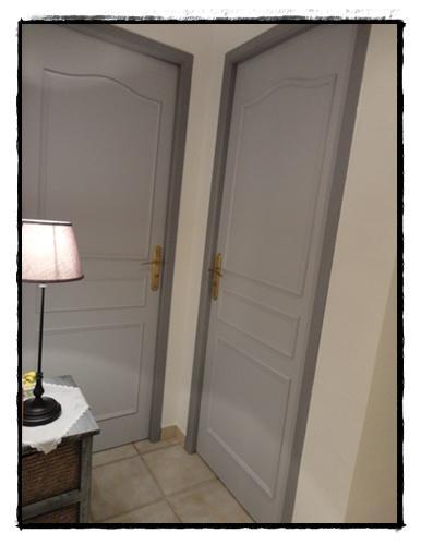 La r novation du couloir 24 f vrier 2012 voir for Couleur de porte de couloir