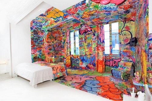 H tel graffiti au vieux panier marseille d couvrir - De quel cote dormir ...