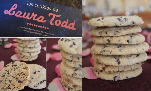 Les cookies aux p pites de chocolat de laura todd paperblog - Recette cookies laura todd ...