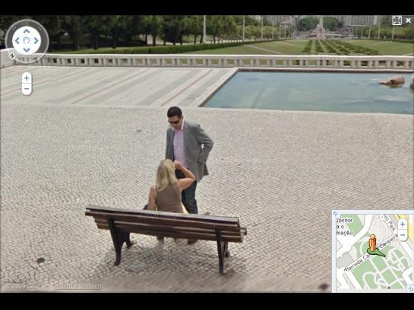 20 images insolites de google street view d couvrir. Black Bedroom Furniture Sets. Home Design Ideas