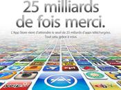 milliards téléchargements l'Apple Store