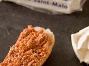 Tartine rillettes sardines petit-suisse