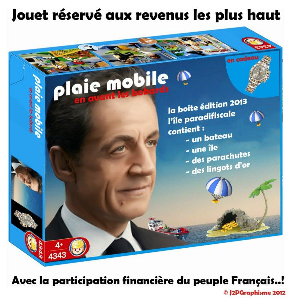 La France forte: Sarkozy, plaie mobile