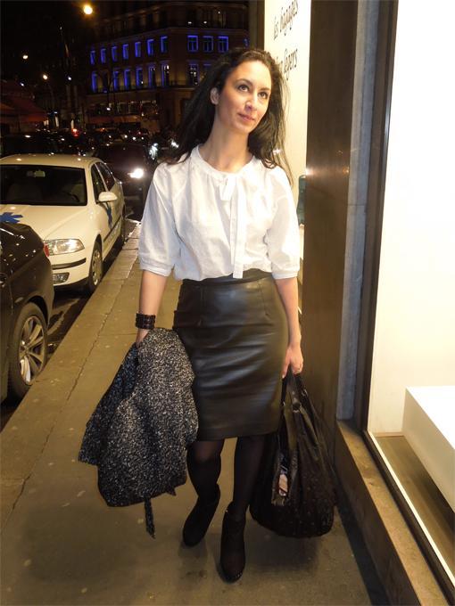 En mode noir et blanc avec Forever 21 et Léa Lauryl