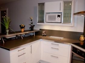 Montage de notre cuisine en kit ikea tape par tape 2 2 - Cuisine laquee blanche ikea ...