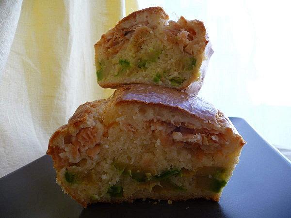 Cake Saumon Avocat De Sophie Dudemaine