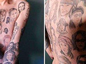 visages tatoues Julia Roberts