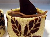 Entremets mousse chocolat-noisettes