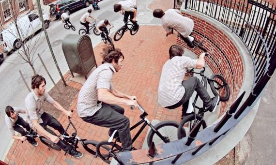 the CINEMA BMX team in Barcelona !