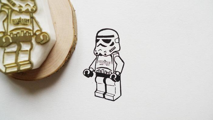 Tampons encreurs LEGO, Star Wars et Super Héros, par Ttyr sur Etsy
