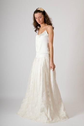Mariage: une robe en dentelle signée Louise Dentelle - Paperblog