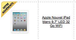 Le nouvel iPad en pré-commande sur Fnac.com