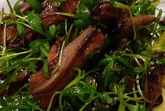 Salade de pleurotes roties au cresson paperblog - Cuisiner des pleurotes ...