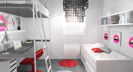 am nagement d 39 une chambre ado design paperblog. Black Bedroom Furniture Sets. Home Design Ideas