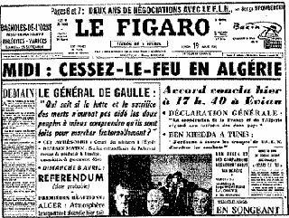 Il y a 50 ans : la fin de la guerre d'algérie