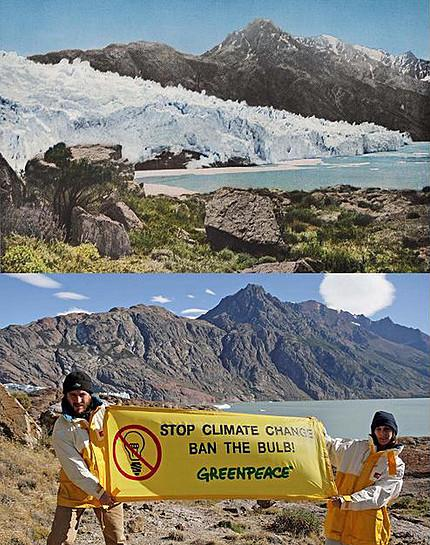 Les glaciers d'Argentine disparaissent. La preuve, en image !