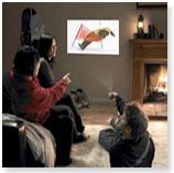 Quand votre téléphone portable se transforme en vidéo-projecteur