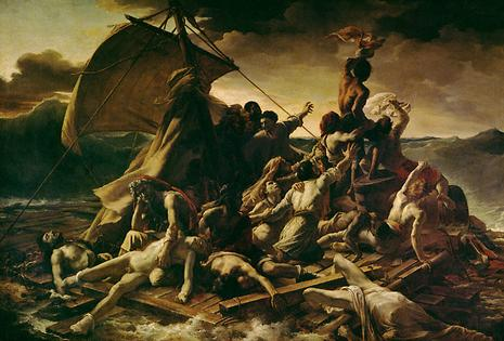 le radeau de la méduse de Géricault, ressource wikipédia