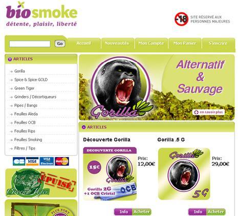 BioSmoke, de l'herbe sans THC ?