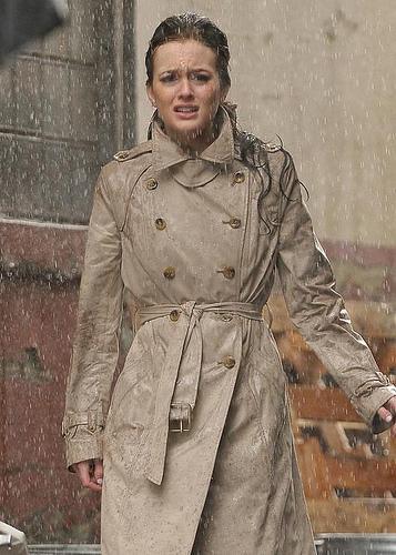 """Jennifer Esposito en couverture du magazine Shape / Chace Crawford et Leighton Meester sur le plateau de tournage de la série """"Gossip Girl"""""""