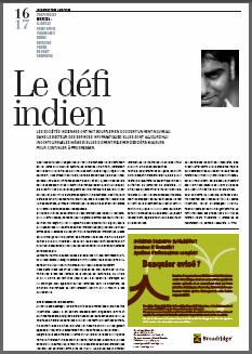 front article AGEFI Royston Consulting