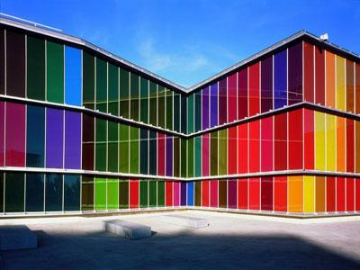 Le MUSAC, musée arc-en-ciel
