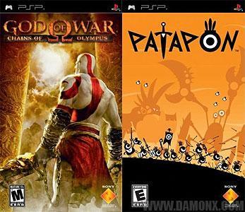 [Commande] Patapon et God of War sur PSP