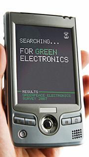 Les produits High tech ne passent pas au vert !