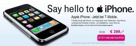 iphone autriche t-mobile