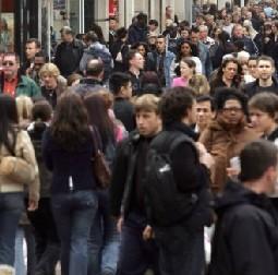 Evolution de la démographie en France