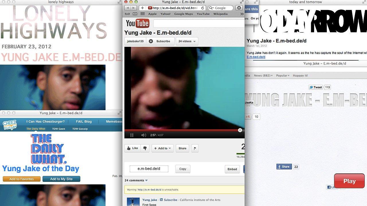 Yung Jake : l'anatomie du viral comme critique de notre monde de buzz