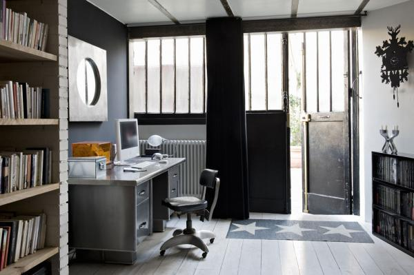 d coration loft atelier bastille paperblog. Black Bedroom Furniture Sets. Home Design Ideas