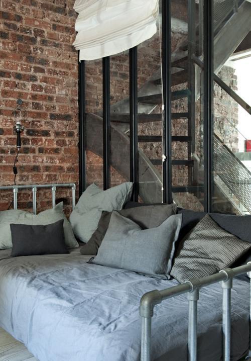 D coration loft atelier bastille paperblog for Deco sejour atelier