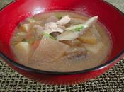 Tonjiru Ragoût porc miso