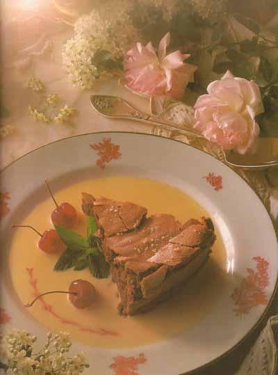 Le délicieux gâteau au chocolat de Marie-Claude Gracia