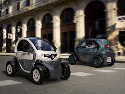 Jouez pour gagner Une voiture Renault Twizy version Technic avec moteur électrique (9730 euros)