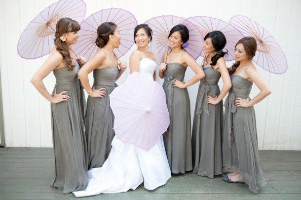 Decoration de mariage grise paperblog for Robe formelle grise pour mariage