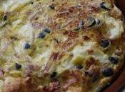 Clafoutis mozarella jambons