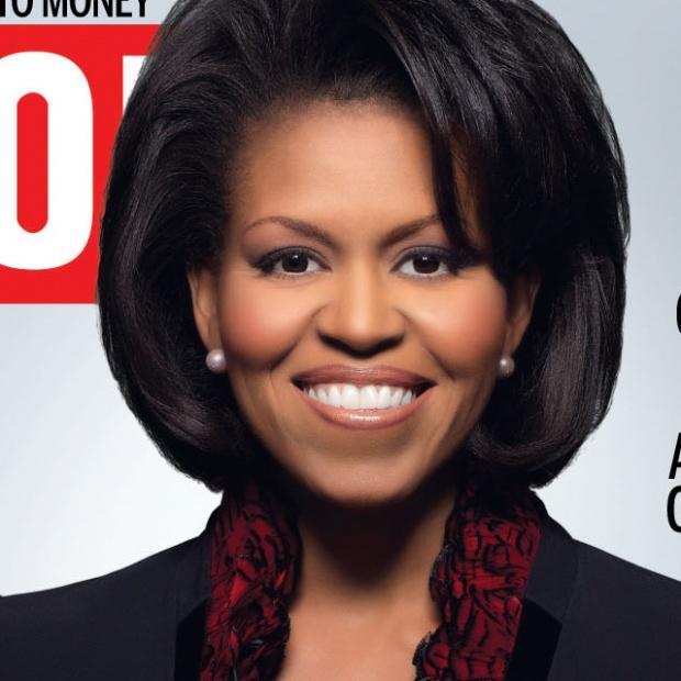 <b>Michelle Obama</b> : c'est quoi cette coiffure ? - michelle-obama-cest-cette-coiffure-L-HbDKzu